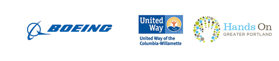 Thank you, Boeing, for sponsoring United Way MLK Weekend of Service!