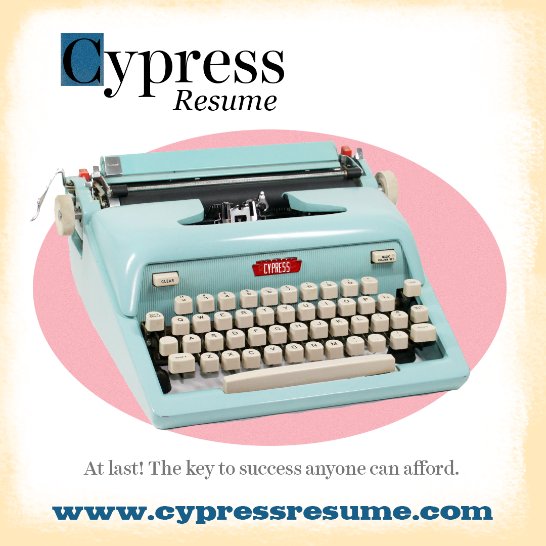 Cypress Resume Marketing Image