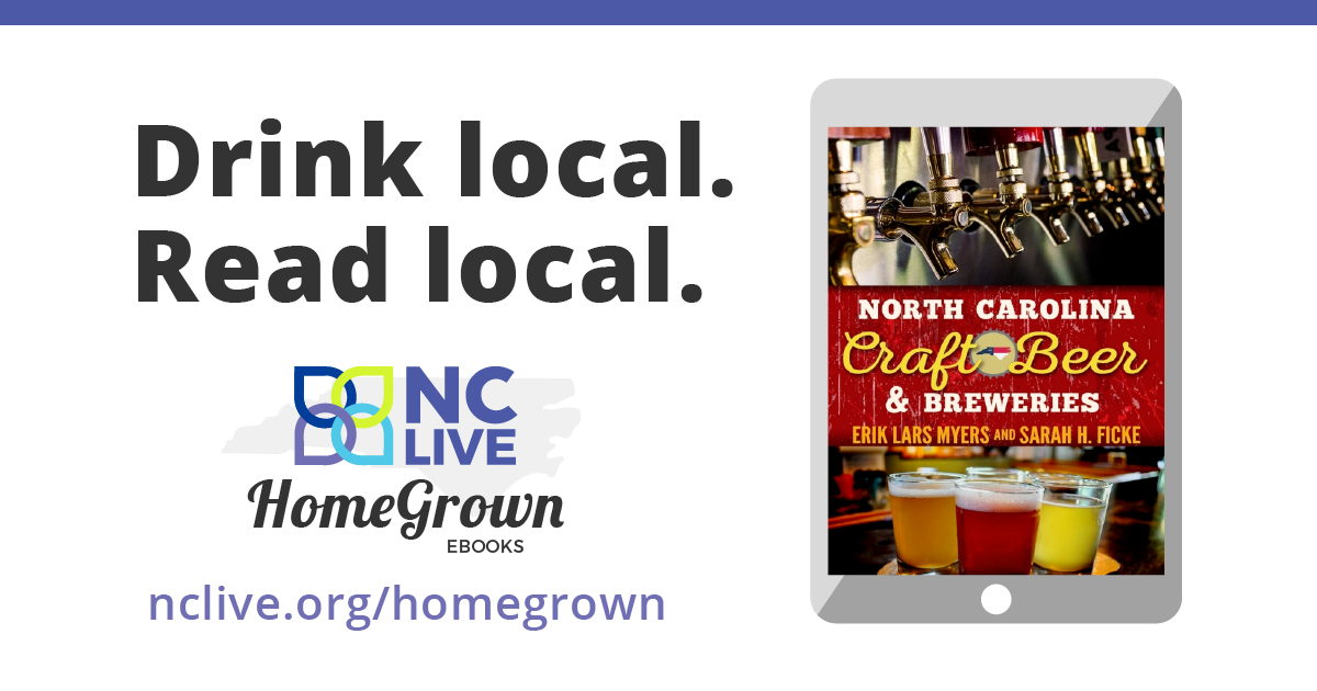 Drink local. Read local.