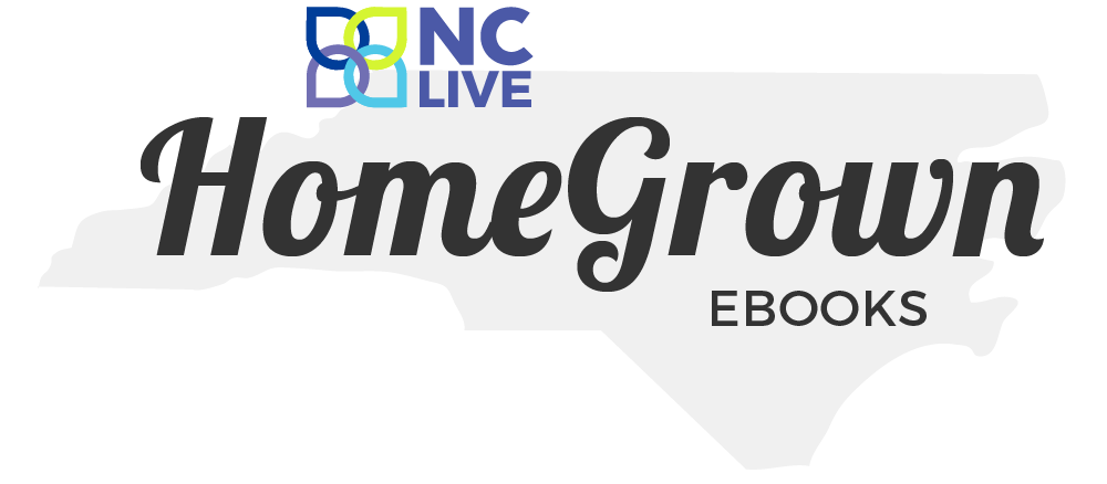 HomeGrown eBooks logo (smaller NC LIVE logo)